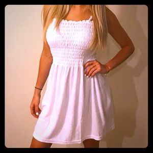 Cover up terry dress
